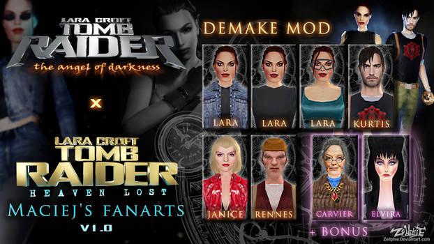 Tomb Raider AOD - TR Heaven Lost DEMAKE MOD v1.0