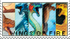 Wings of Fire Stamp by elsadorable-dolls