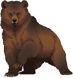 Pixel Bear by FennecFoxAim