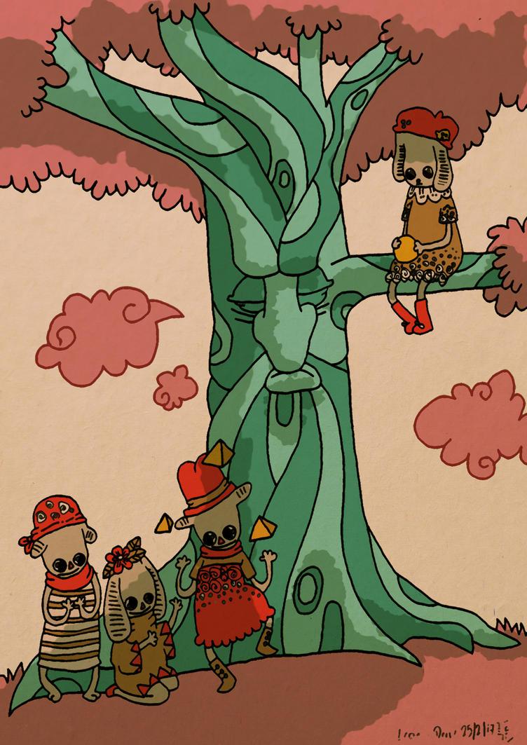 Lemony Hedik meets the triangle fanatics. by CupboardDweller