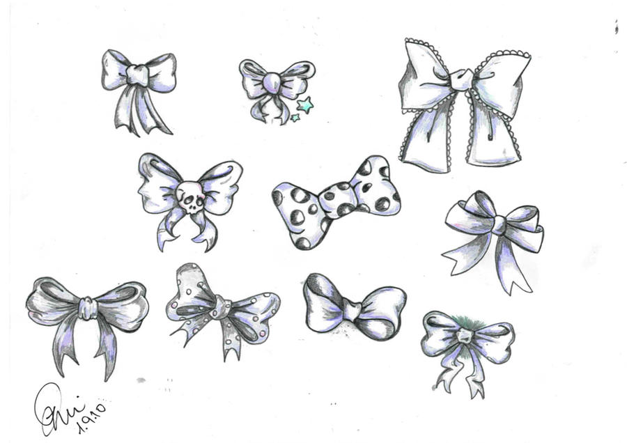 Bows Design By Dorin1986 On Deviantart