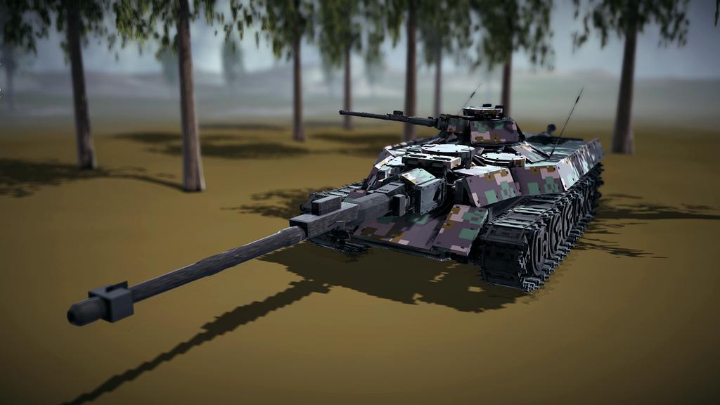 Besiege (DG-001 Tank Destroyer) by dabigboss888