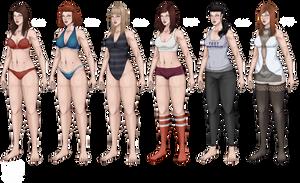 Synthia Robot Full Body (Cindy Variations II) by dabigboss888