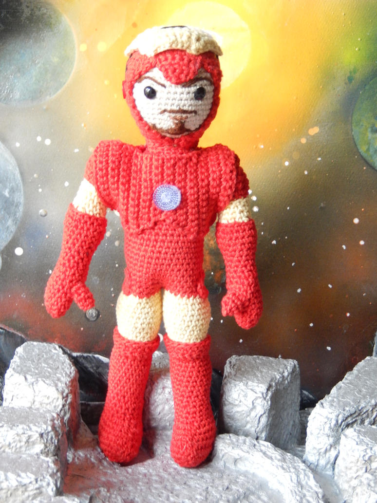 Crochet Iron Man - Free Pattern by amilovesgurumi on ...