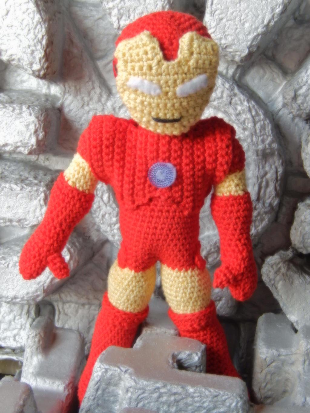 Iron Man Amigurumi Free Pattern : Crochet Iron Man by amilovesgurumi on DeviantArt