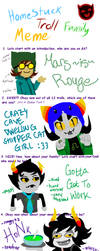 My troll family by Mars-is-Rouge
