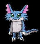 Digimon OC: Weltsomon by LeafyTaichou