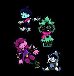 Delta Rune Pixels