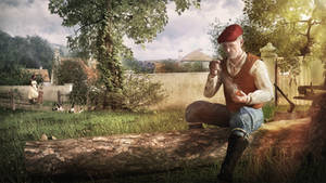 The Woodcutter - A Moments Rest by Kibosh-1