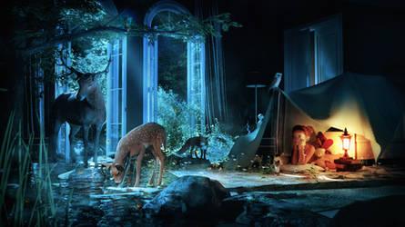 Gentle Forest - A Childs Imagination 2 by Kibosh-1