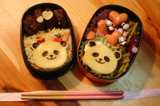 Bento Pandas in Love
