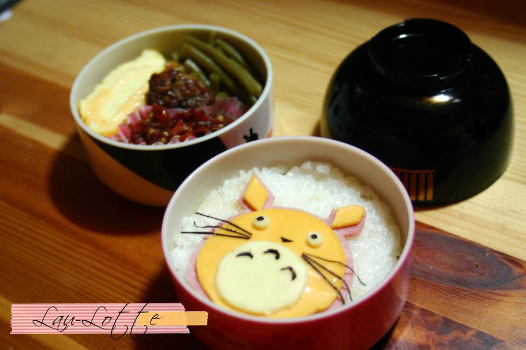 Bento Totoro by RiYuPai