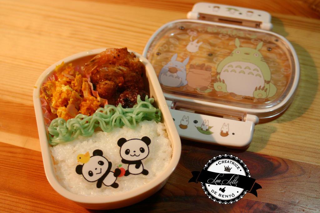 Bento Little Pandas by RiYuPai