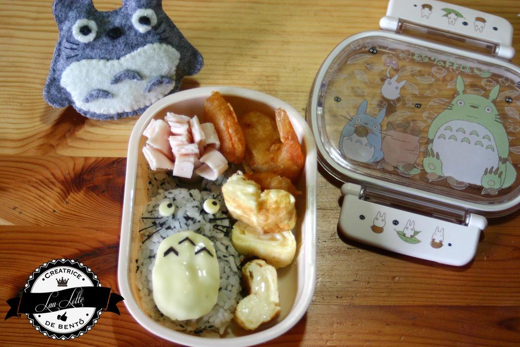 Bento Totoro - 100 fans by RiYuPai