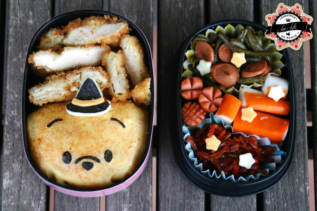 Bento Halloween Winnie the Little Wizard by RiYuPai