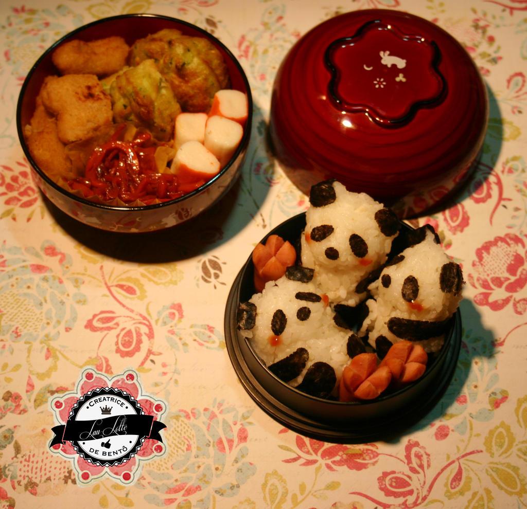 Bento Babies Pandas by RiYuPai