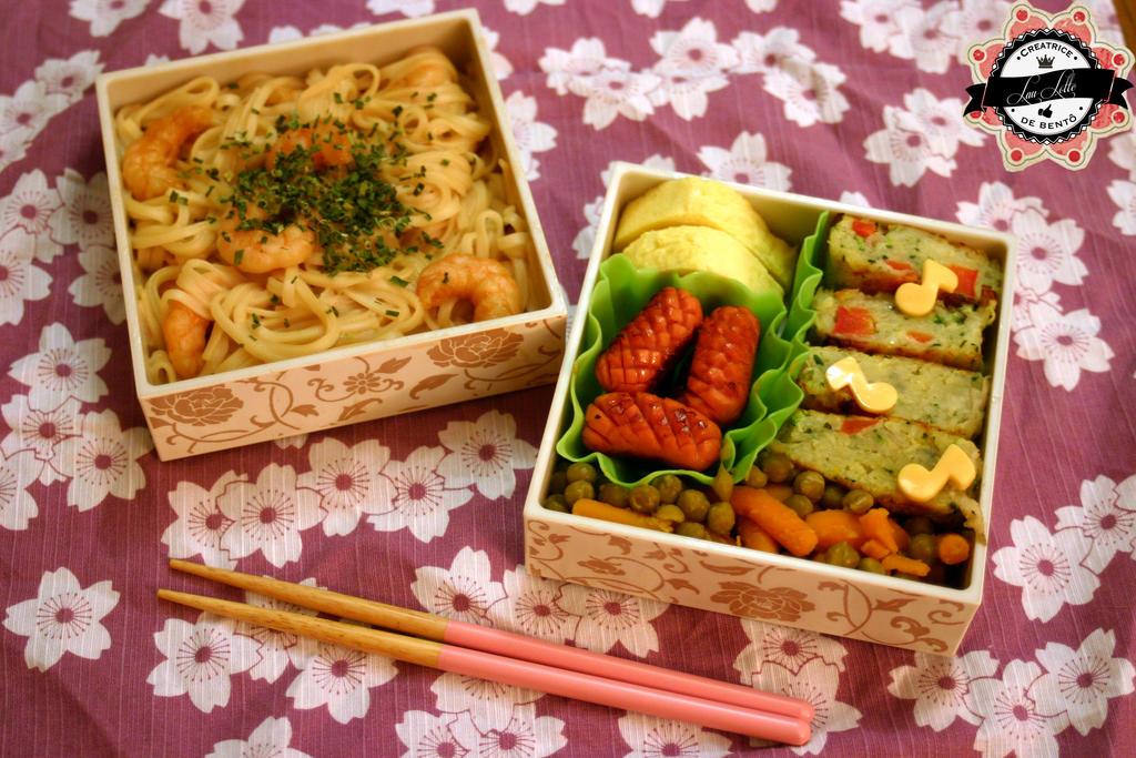Bento lacquered shrimp by RiYuPai