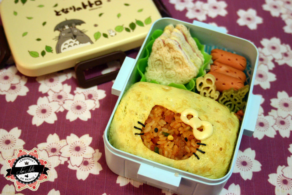 Omurice Hello Kitty by RiYuPai