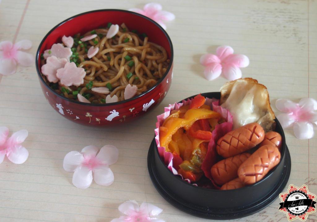 Bento Ramen and sakura by RiYuPai
