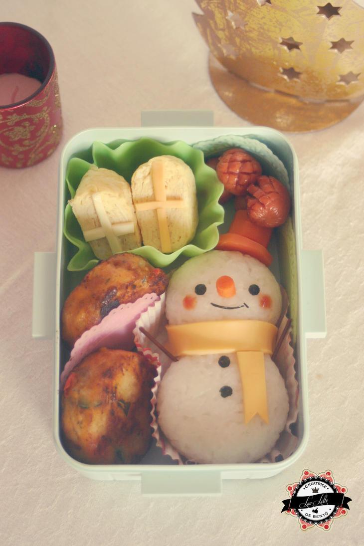 Snowman bento by RiYuPai