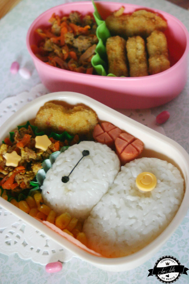 Baymax bento from Big Hero 6 by RiYuPai