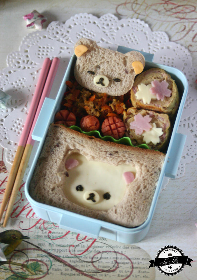 Bento Sandwich Korilakkuma by RiYuPai
