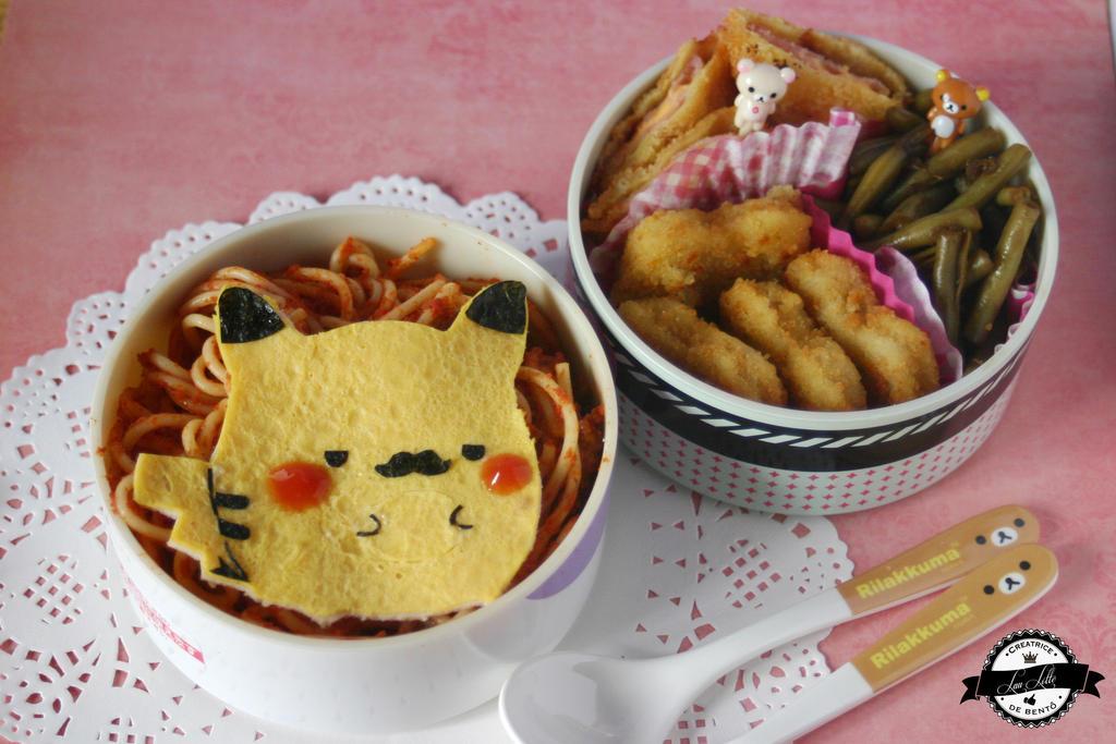 Pikachu bento by RiYuPai
