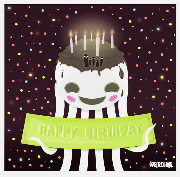Happy Birthday by weirdink