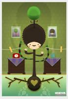 Jonny The Tree Boy by weirdink