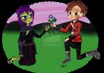 Pc  Barriss And Conradin By Lunarosedragon