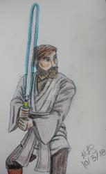 Obi-Wan by lordhadrian