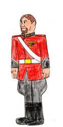 General Conradin Hadranus by lordhadrian
