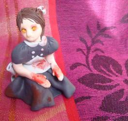 Bioshock - Little Sister - sculpture by ElenoreLoretje2