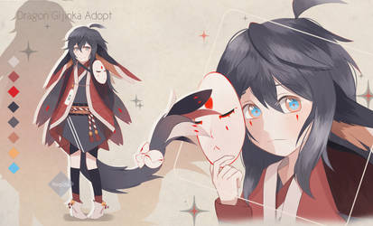 Dragon Gijinka Adopt | Auction | CLOSED by Reo-chii