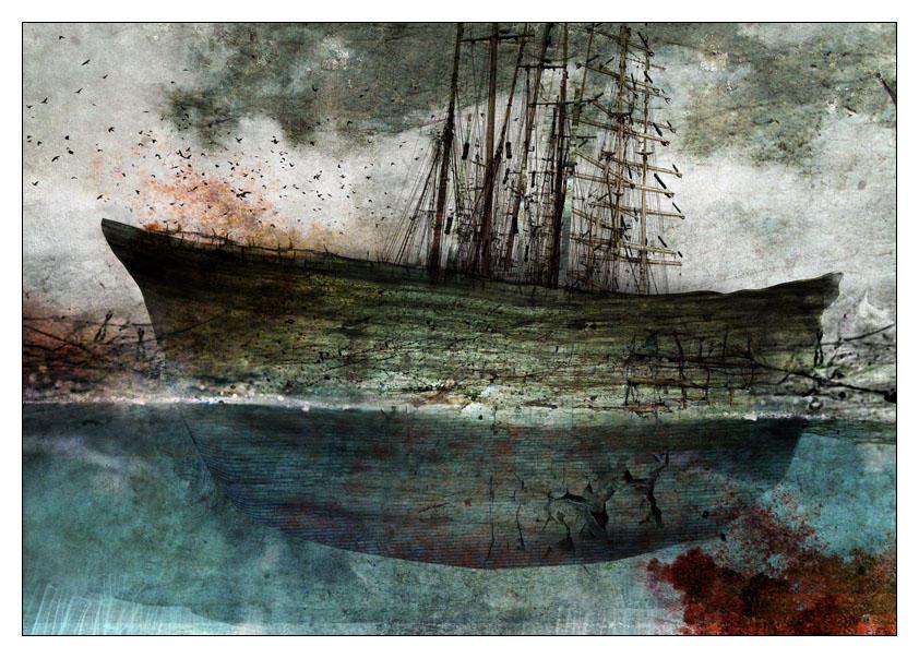 Sailing the Sea of Lost Time by MaciejZielinski