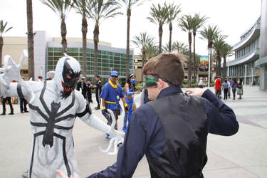 Anti-Venom vs Mister Masquerade by Yachiru5