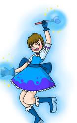 me as a magical girl by Yachiru5
