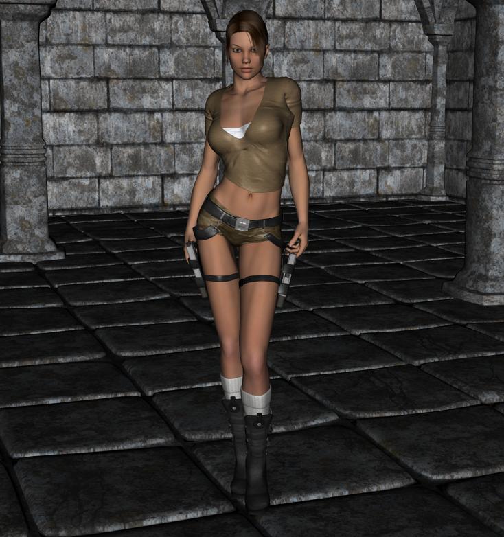 Tomb Rider Wallpaper: Lara Croft 1 By FatalHolds On DeviantArt