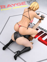 Tina VS Christie: Rodeo Hold 5 by FatalHolds