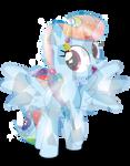Rainbow Dash Crystal Form (Fixed)
