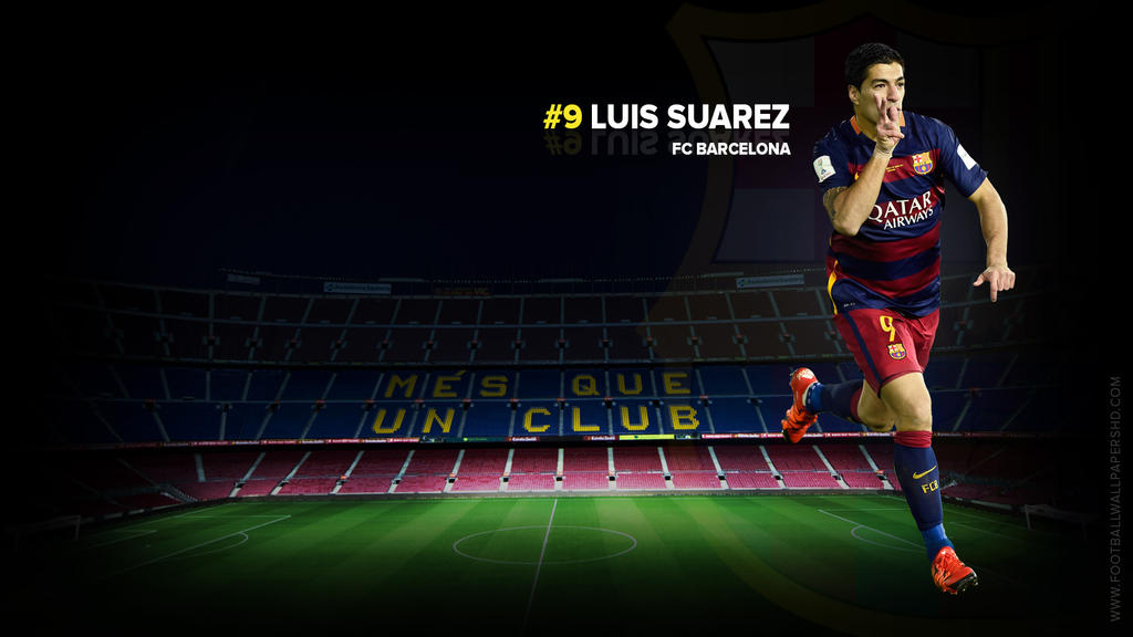 Luis Suarez FC Barcelona Wallpaper By FBWallpapersHD On