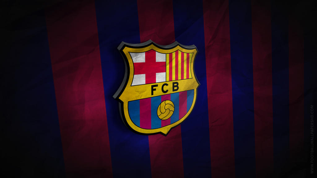 fc barcelona 3d logo wallpaper by fbwallpapershd on deviantart