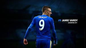 Jamie Vardy Leicester City Wallpaper
