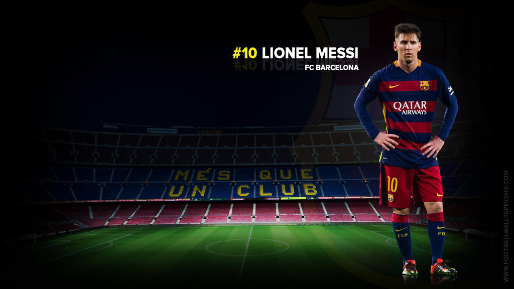 Lionel Messi FC Barcelona 2015/2016 Wallpaper By