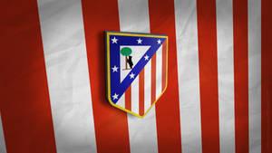 Atletico Madrid 3D Logo Wallpaper