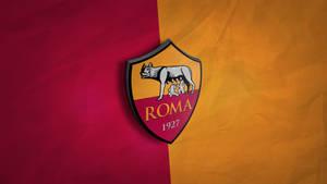 AS Roma 3D Logo Wallpaper