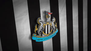 Newcastle United 3D Logo Wallpaper