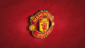 Manchester United 3D Logo Wallpaper