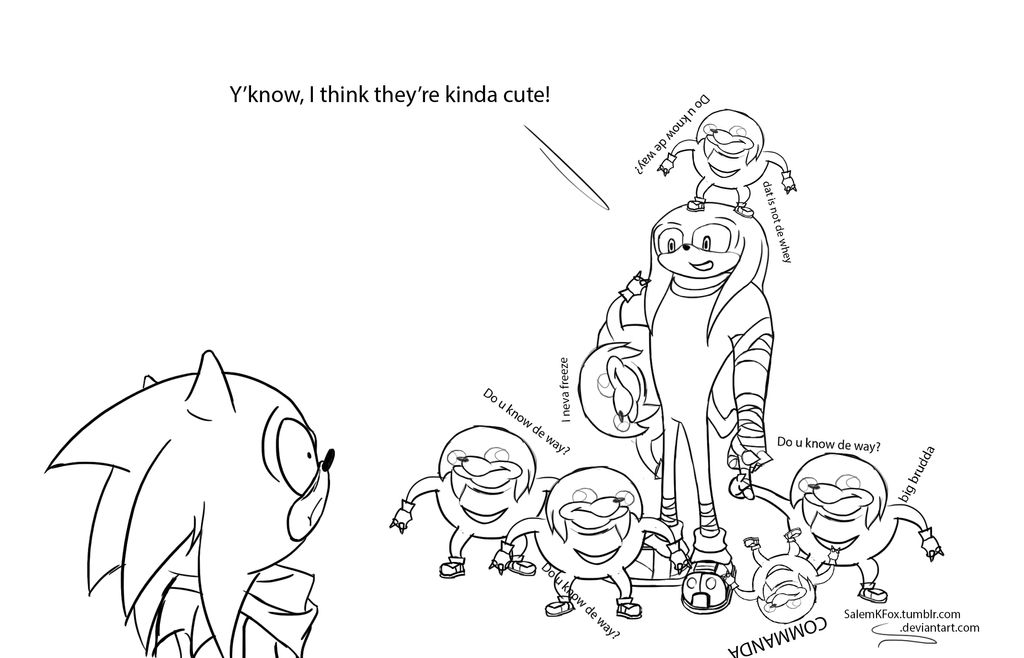Knuckles and the Tribe