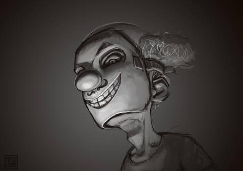 Clown Portrait, 13-01-2014